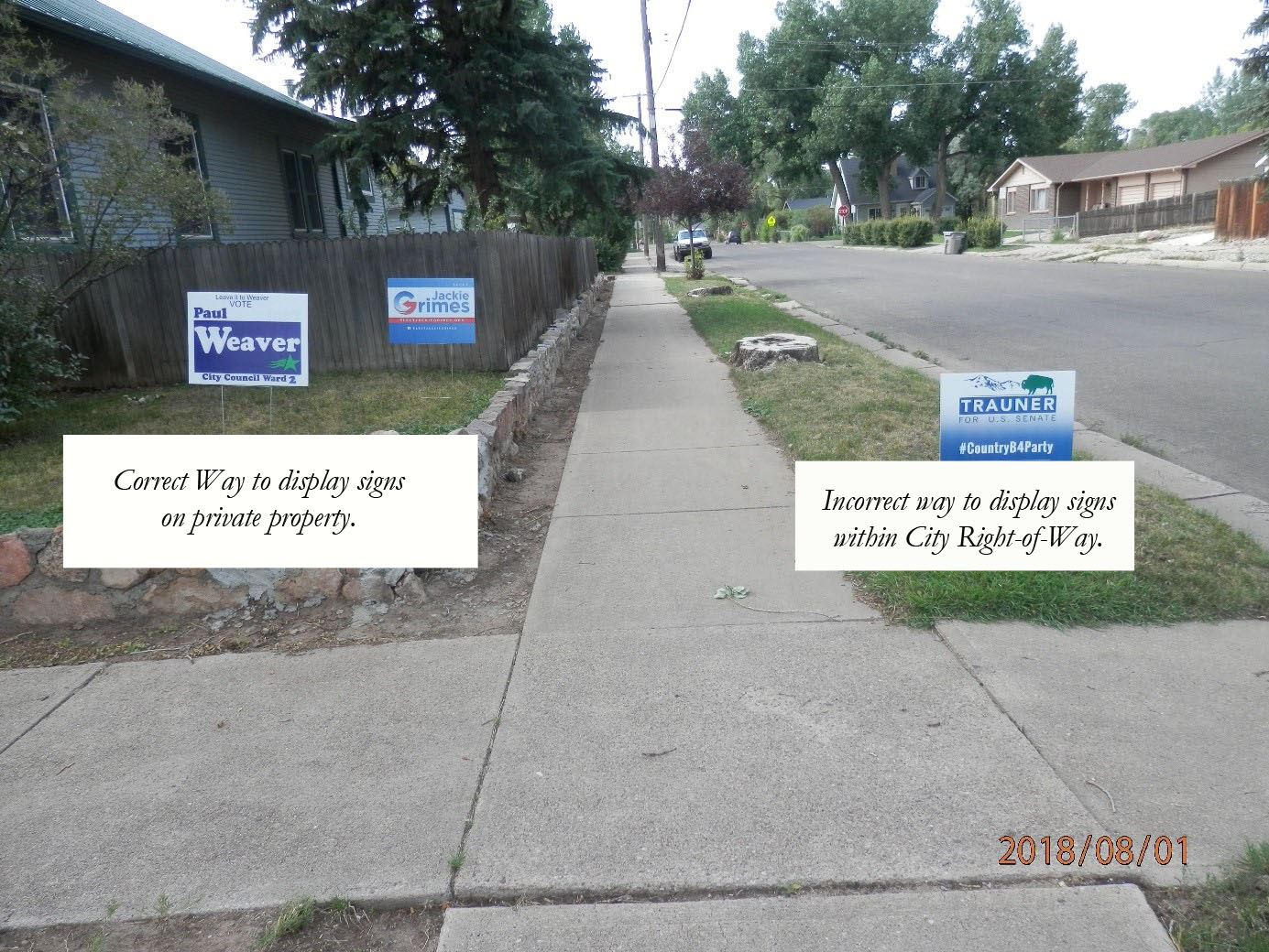 Election Yard Signs