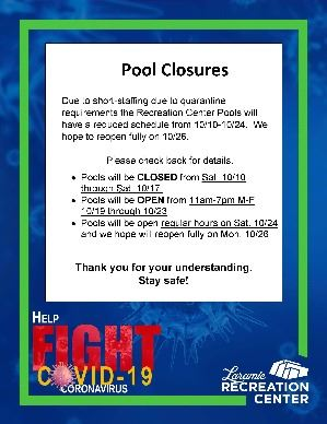 Pool Closure Alert